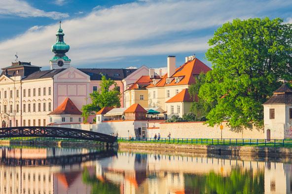 צ'סקה בודיוביצה, בירת דרום בוהמיה, היא עיר עתיקה יפהפייה