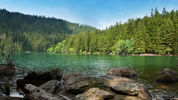 אגםCerne (האגם השחור), אחד האגמים היפים בשמורת שומבה