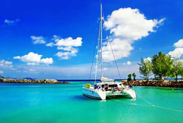 שלווה אינסופית באיי סיישל