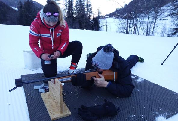 סיימתם לעשות סקי נורדי? הגיע הזמן לירות ברובה אוויר | צילום: לוראן רומאני