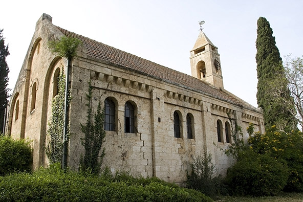 הכנסייה באלוני אבא