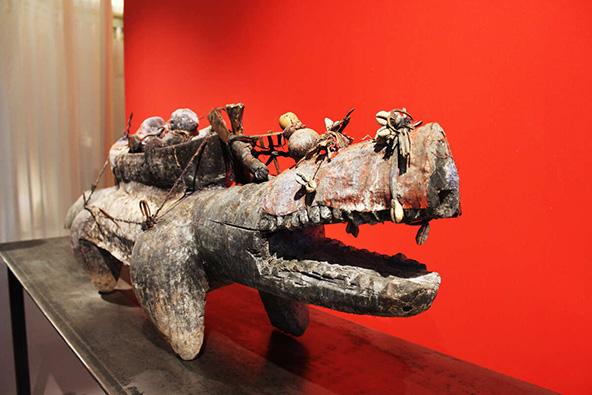 מוצג במוזיאון הוודו. בשטרסבורג יש הרבה מאוד מוזיאונים ייחודיים וכדאי לבקר בכמה מהם | צילום: ©ART GE - Birgé