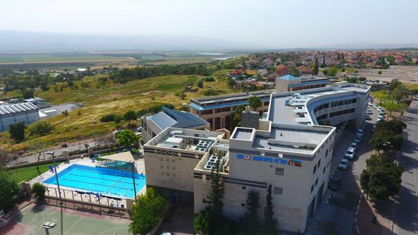 """אכסניית אנ""""א בית שאן מציעה תנאים מצוינים, כולל בריכת שחייה"""
