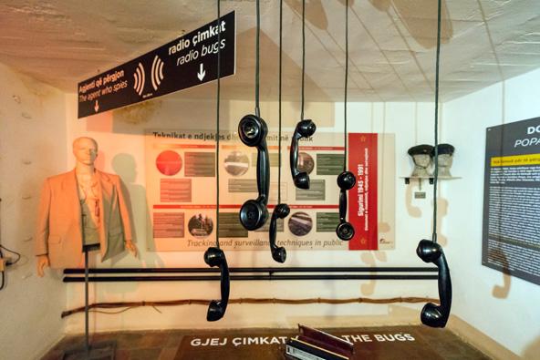 תצוגה בבונקארט, בונקר שהוסב למוזיאון היסטורי מרתק