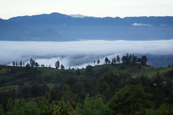 נוף מאזור מט. האגן | צילומים בכתבה: דפנה נבו