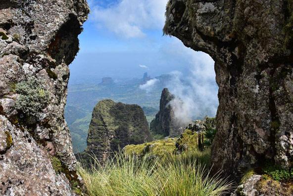 נופי הסימיאן. האם ארון הקודש הגיע בסופו של מסע ארוך לצפון אתיופיה? | צילום: הדר שוייצר