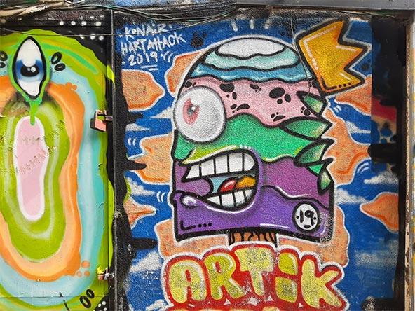 אמנות רחוב בפלורנטין