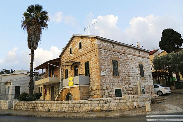 מבנה טמפלרי במושבה הגרמנית בחיפה