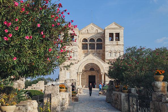 כנסיית ההשתנות בפסגת הר תבור