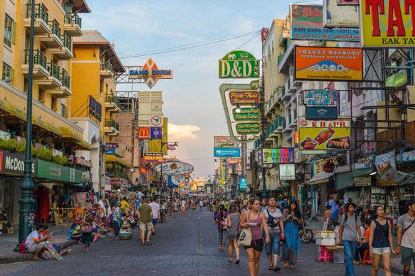 קאו סאן, רחוב התרמילאים המפורסם של בנגקוק