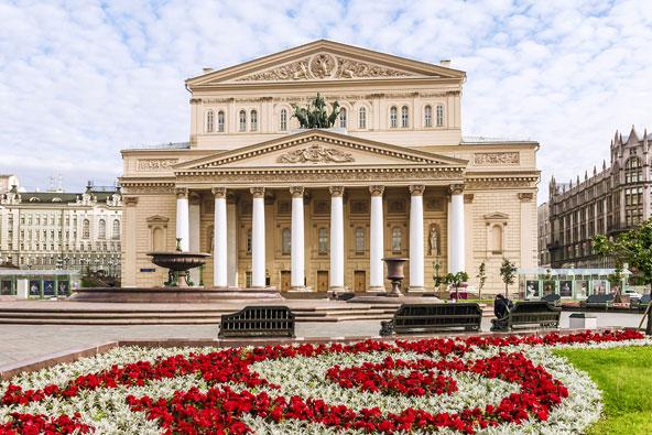 """תאטרון הבולשוי. כאן עלתה לראשונה היצירה """"אגם הברבורים"""" של צ'ייקובסקי"""