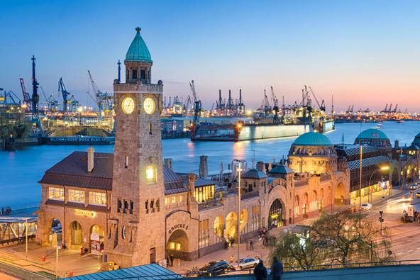 הנמל של המבורג, השני בגודלו באירופה