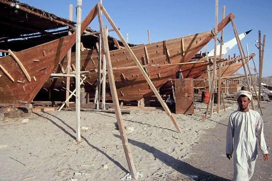 סירות דאו בעומאן. צילומים: יגאל צור