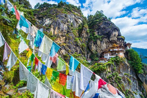 מנזר קן הנמר. הנופים מפצים על קשיי הטיפוס | צילום: theskaman306/Shutterstock.com