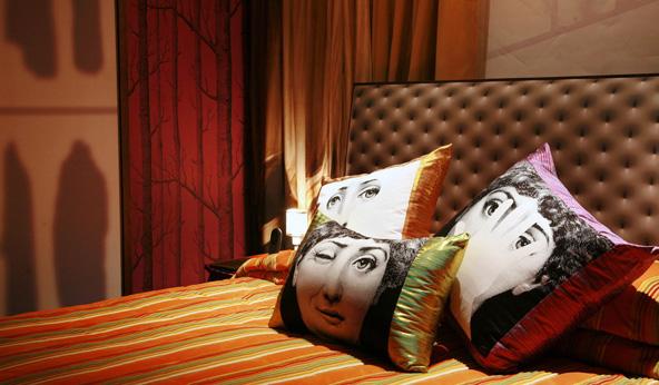 עיצוב סוראליסטי במלון לוקס מאנור | צילום באדיבות The Luxe Manor