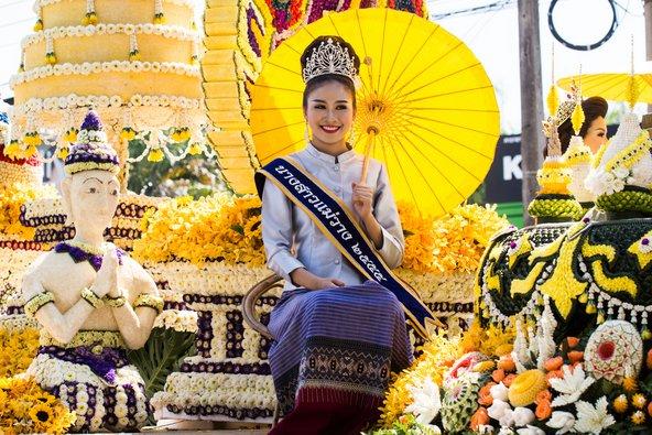פסטיבל הפרחים בצ'אנג מאי