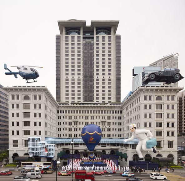 מלון פנינסולה. להשאיר מאחור את המאה ה-21