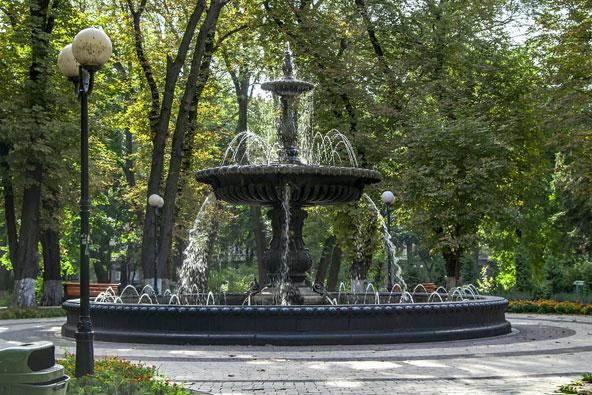 פינה ירוקה ושלווה בפארק מריאנסקי