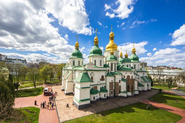 קתדרלת סנט סופיה, מסמלי העיר קייב
