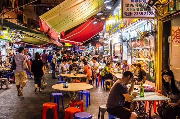 שוק הלילה ברחוב טמפל