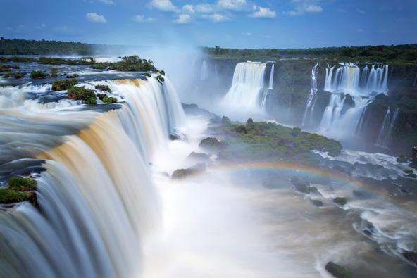 מפלי האיגואסו על גבול ברזיל-ארגנטינה, אתר חובה לאוהבי טבע