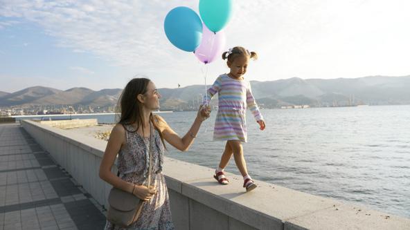 טיילות הן מקום נפלא לזוגות רומנטיים וגם למשפחות עם ילדים