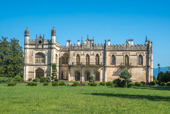 ארמון דדיאני בזוגדידי, אחד הארמונות המרשימים ביותר בקווקז
