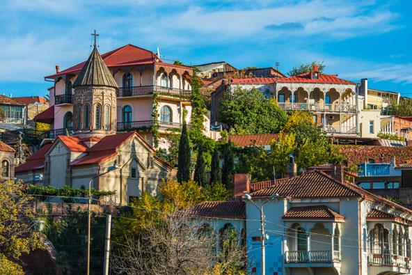 טבליסי, בירת גאורגיה. עיר מרתקת ורבת עניין