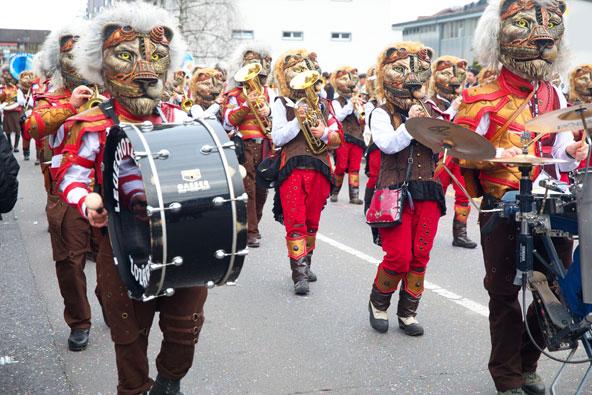 תהלוכה בפאסטנאכט של לוצרן