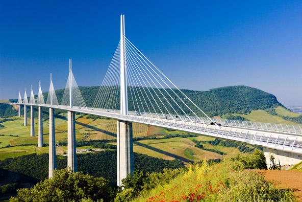 גשר מיו בצרפת, הכי גבוה בעולם