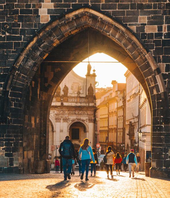 טיול רגלי בעיר העתיקה של פראג