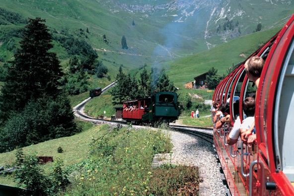 שווייץ – טיול רכבות