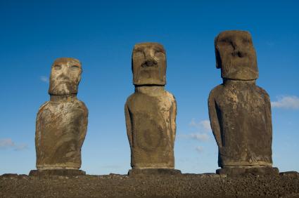 אי הפסחא – תעלומת פסלי הענק