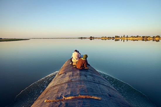 מערב אפריקה: שייט על נהר הניז'ר