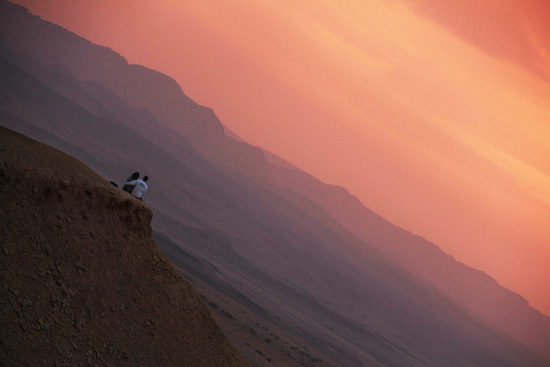מכתש רמון: לילה במדבר