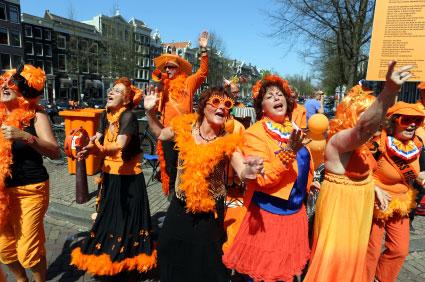 הולנד: יום המלכה האחרון