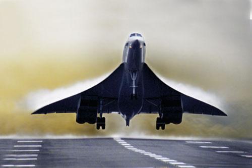 קונקורד: המראתו ונחיתתו של מטוס הנוסעים העל קולי