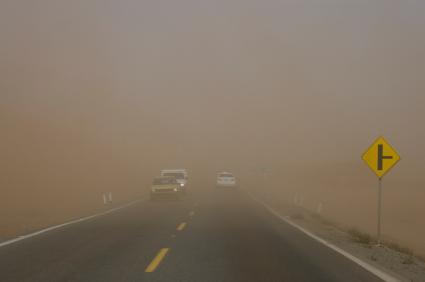סידני נעלמה תחת ענן אבק כתום