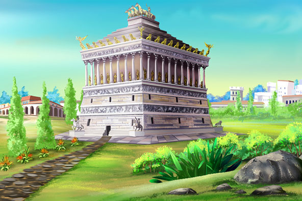 המאוזוליאום בהליקרנסוס קם לתחייה