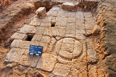 בית בד בן יותר מאלף שנה התגלה בהוד השרון