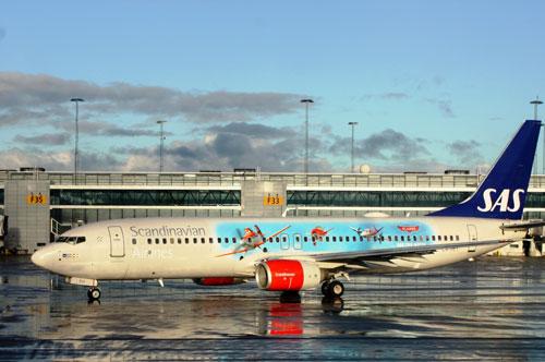 סאס תפעיל מטוס מיוחד עם ציורים של דיסני
