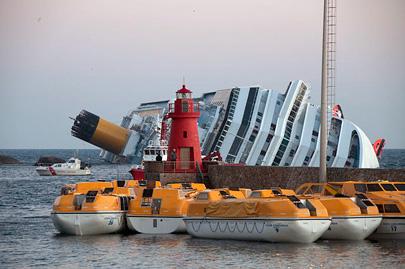 קברניט האונייה שטבעה לא פעל על פי ההוראות