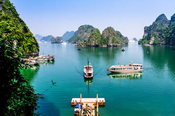 שייט על המקונג בווייטנאם וקמבודיה