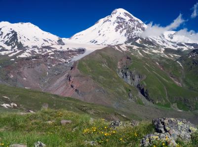 גאורגיה: אוויר הרים צלול כיין