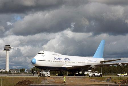 ג'מבו הוטל, שוודיה: סוויטה בתא הטייס