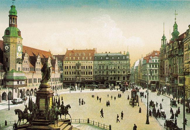 לייפציג: בעירו של הסוחר מלובלין