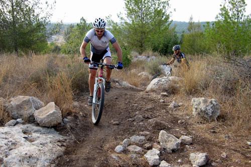 אופניים ביער בן שמן – טיול