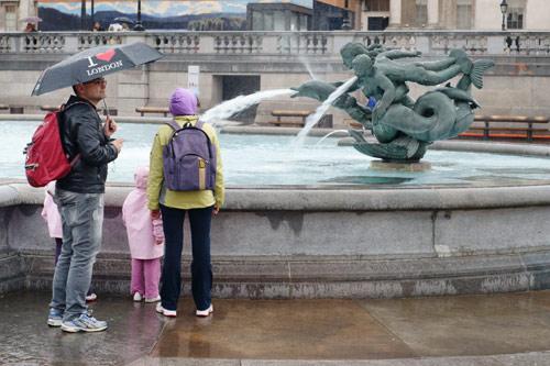 לונדון עם ילדים בחורף