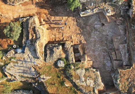 מחצבה ענקית מימי בית שני נחשפה בירושלים