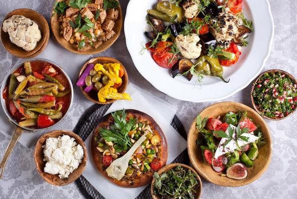 מסעדות צמחוניות באזורי טיול